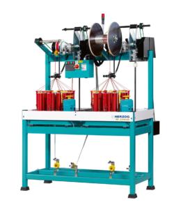 Herzog Textilflechtmaschine Rundflechtmaschine Typ NG 2-1-16-120