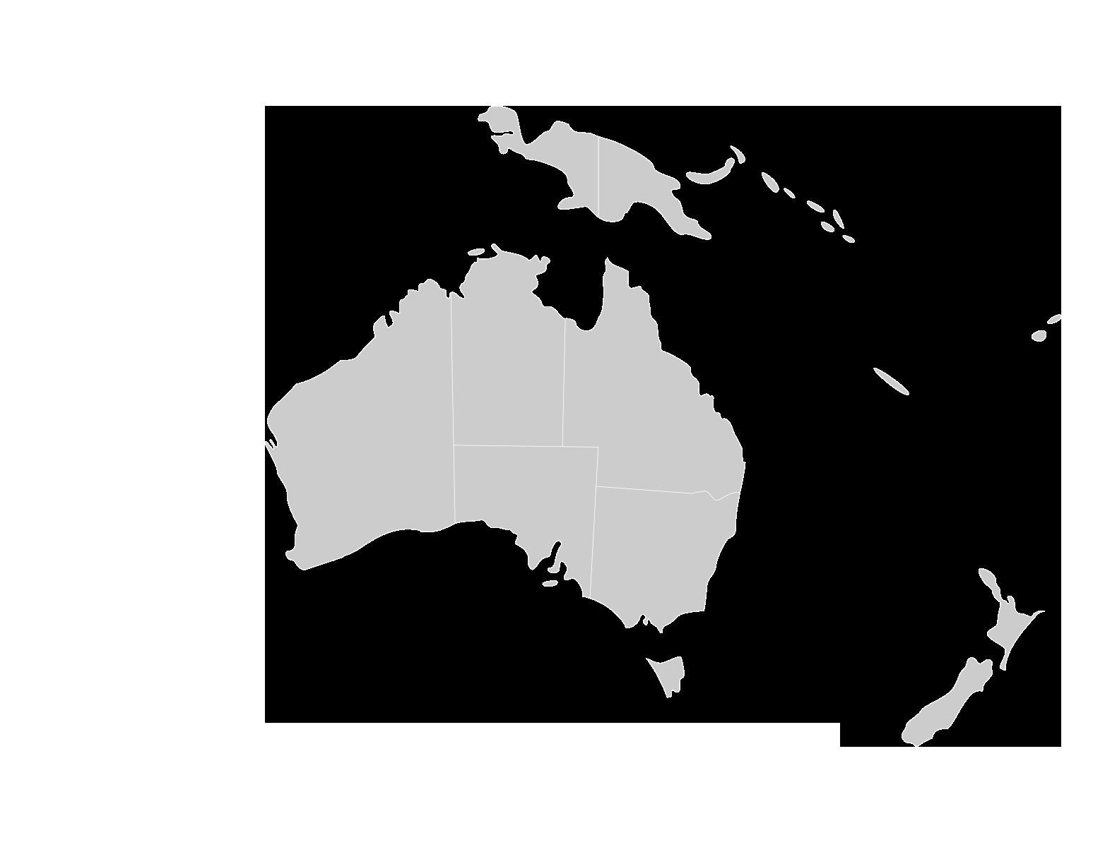 Herzog Standorte Austrlienkarte